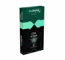Продлевающие презервативы Domino Classic Long Action с анестетиком (6 шт)