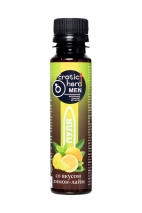 Концентрат для мужчин Erotic hard «Пуля» со вкусом лимона и лайма (100 мл)