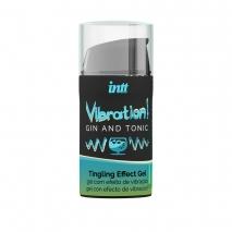 Жидкий вибратор с согревающим эффектом и ароматом джин-тоника Vibration! Gin & Tonic (15 мл)