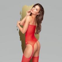 Красный боди-комбинезон Penthouse Hot nightfall SL