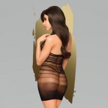 Мини-платье в мелкую сетку Penthouse Epic night SL