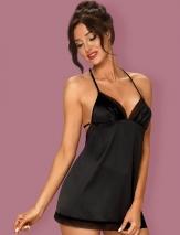 Сексуальная сорочка с оригинальной спинкой Obsessive ALIFINI CHEMISE LXL