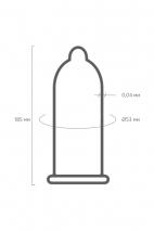 Ультратонкие презервативы VIVA 0,04 мм (3 шт)