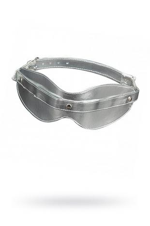Маска на глаза литая серебро SITABELLA