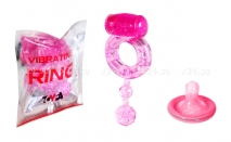 Виброкольцо Vibrating Ring розовый