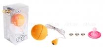 Виброяйцо оранжевое водонепроницаемое Funny Five