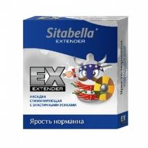 Стимулирующий презерватив с усиками ЯРОСТЬ НОРМАННА (1 шт)