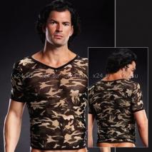 Сетчатая футболка камуфляж S/M