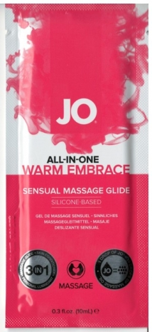 Массажное масло System Jo Sachet Warm Embrace Sensual Massage Glide 10 мл