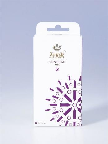 Набор презервативов AMOR® Mix 15 шт.