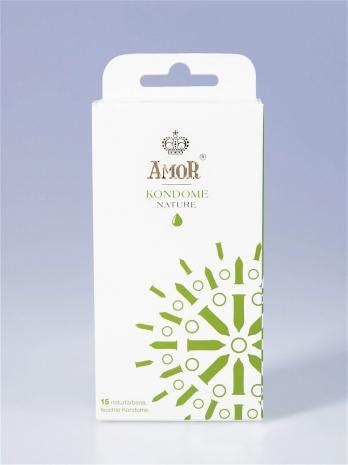Классические презервативы AMOR® Nature 15 шт.