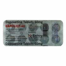 Dapoligy-60 (Дапоксетин) таблетки для продления секса 10 таб. по 60 мг