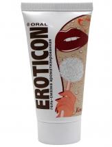 Гель-смазка орально-вагинальная на водной основе Eroticon «Кокос», 50 мл