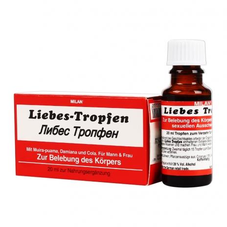 Возбуждающие капли для двоих Milan Liebes Tropfen 20 мл