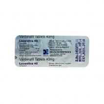 Дженерик левитра (Варденафил 40) таблетки для мужчин, повышающие потенцию 10 таб. 40 мг