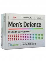 """Men's Defence (""""Мэнс дефенс"""") биологически активная добавка для усиления потенции с экстрактом корня имбиря 20 капс."""