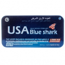 Препарат для потенции USA Blue Shark (акулий хрящ) 12 капс.