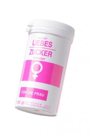 """Возбуждающее средство для женщин Milan Liebes-Zuсker feminin """"Сахар любви"""", 100 г"""