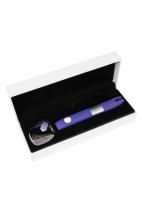 Фиолетовый клиторальный вибромассажёр Qvibry Q2 (7 режимов вибрации)