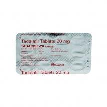 Дженерик сиалиса Tadarise 20 (Тадалафил 20) таблетки для увеличения потенции 10 таб. 20 мг