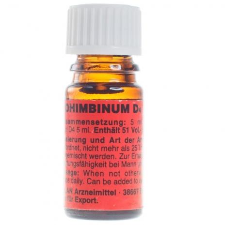 Yohimbinum D4 (экстракт йохимбе) возбудитель для двоих (5 мл)